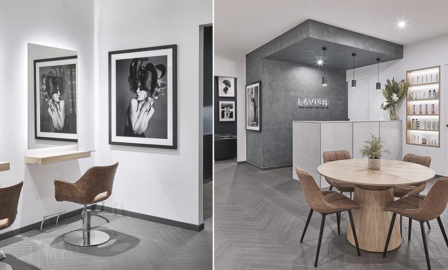 Lavish Hair + Beauty Bar. Celebrating Textures in Salon Design ...